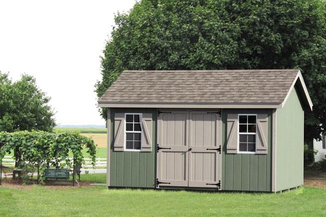 10x14 classic storage shed pa ny nj