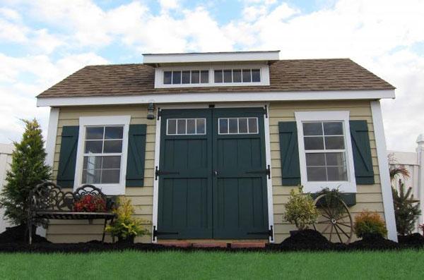 fancy wooden sheds 0