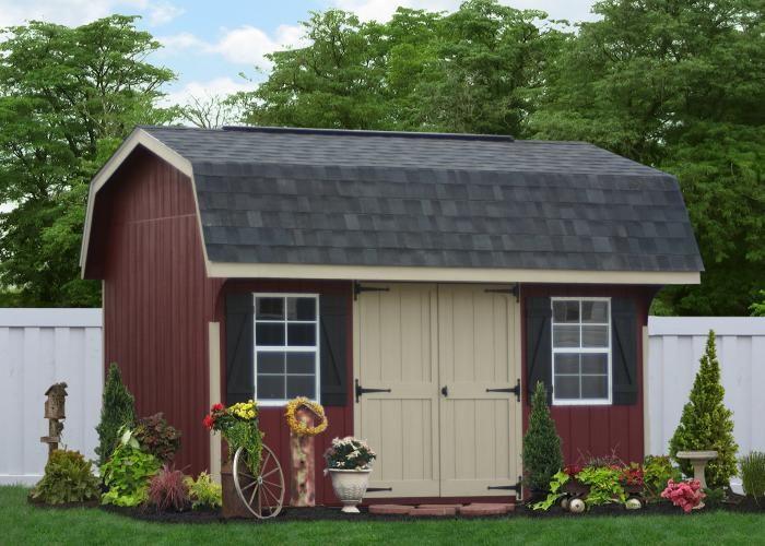 amish gambrel barn