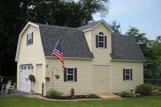 two story amish barn garage nj
