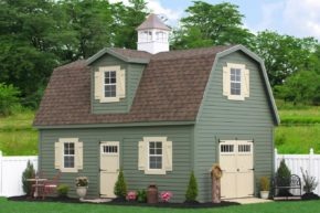 buy a two story shed barn ny