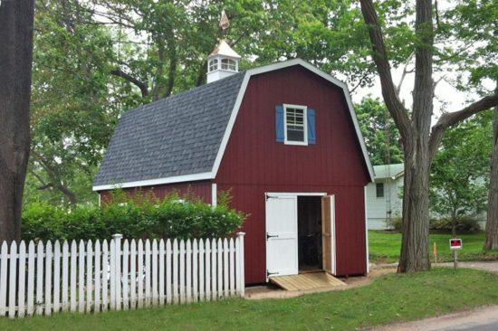 amish barn two story