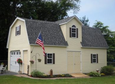 two story amish barn garage nj 1
