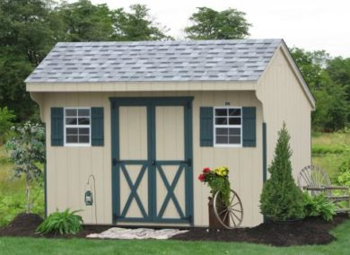 wooden garden shed ideas
