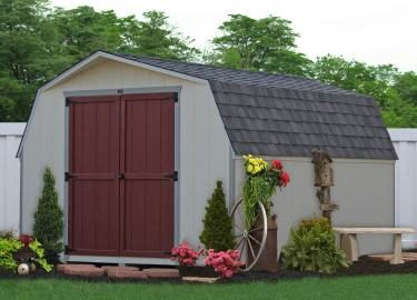 1127 wooden shed