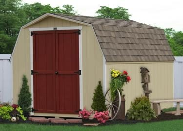 amish sheds and barns in de