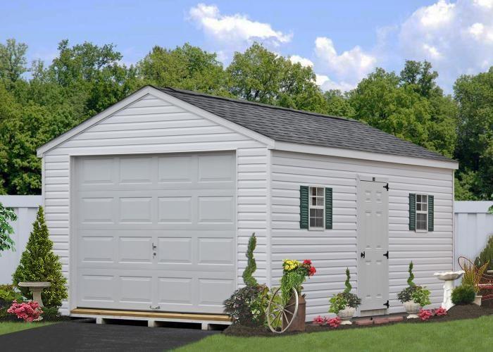vinyl amish garage