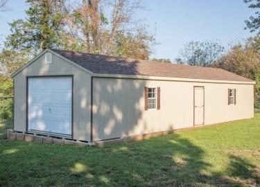 16x48 portable car garage