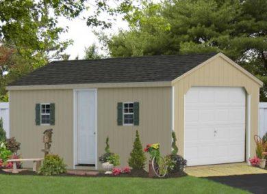 12x24 workshop garage shed