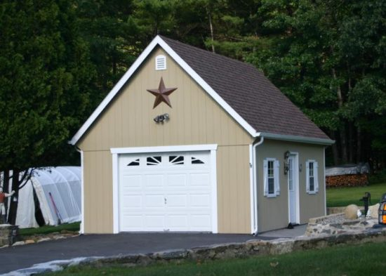 buy two story garage detached