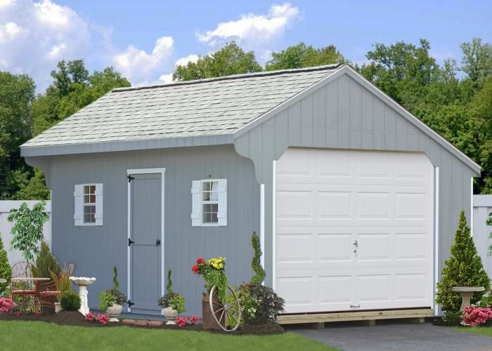 prefabricated garages pa