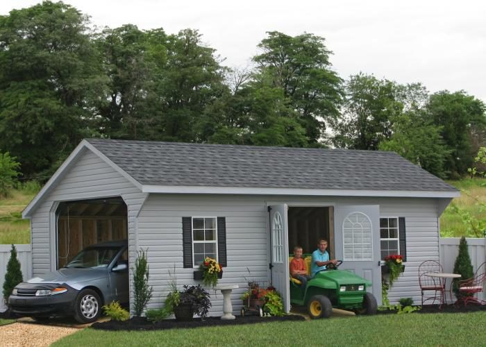affordable one car garage