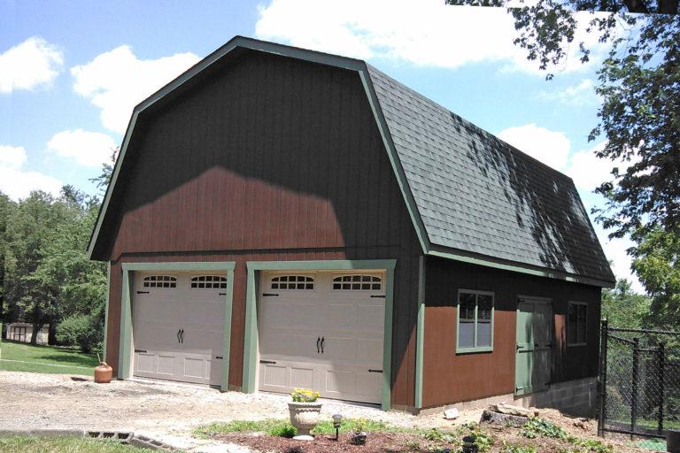 detached barn garages 1