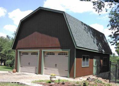 buy a detached barn garage