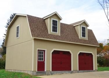 2 story barn garage 1