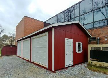 18x36 workshop multiple car garage