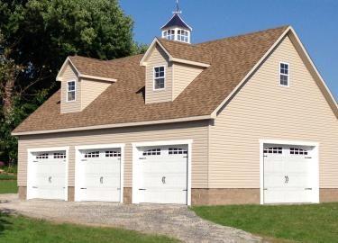 garage with loft 1
