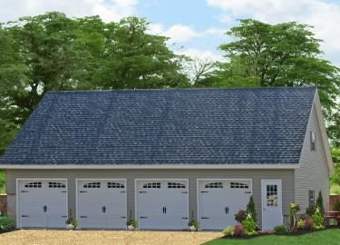 four car garage with living space 1