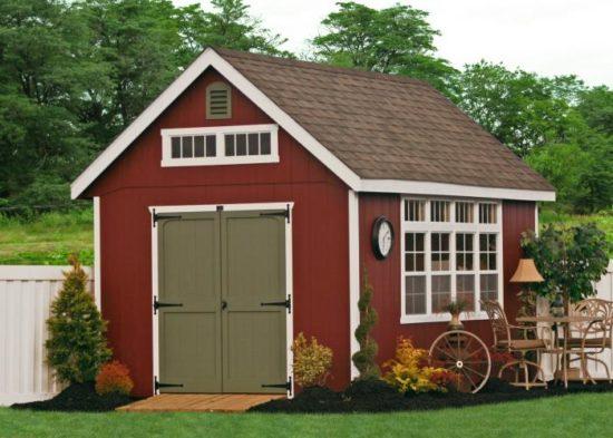 garden storage sheds backyard
