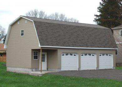 prefab four car garage 1