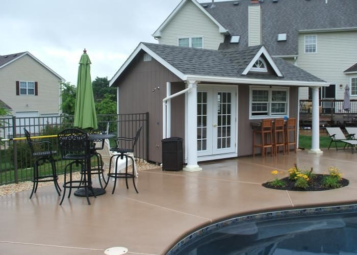 10x16 pool house shed for sale jpg