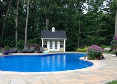 economical wooden poolhouse pa nj 1