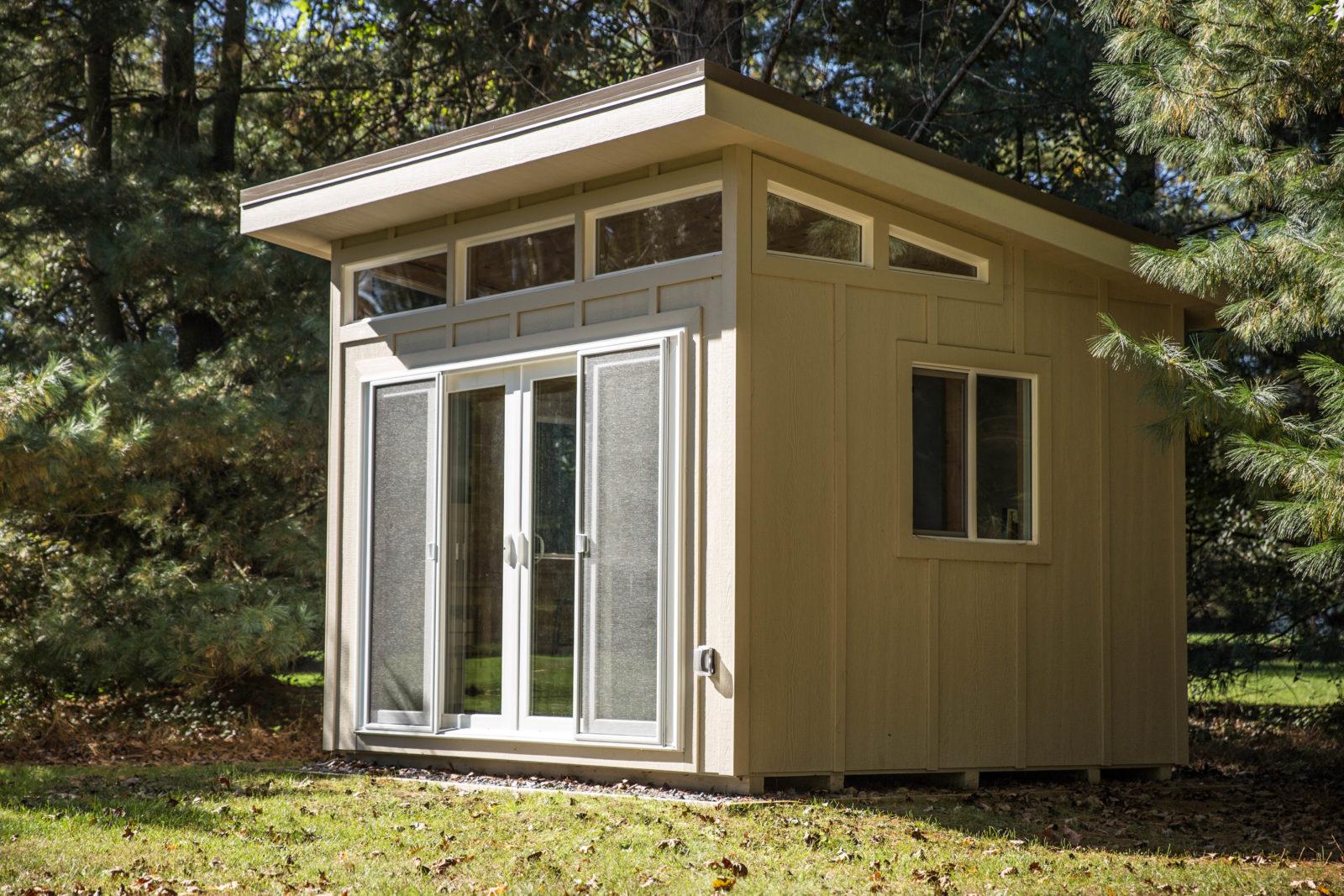 studio shed backyard