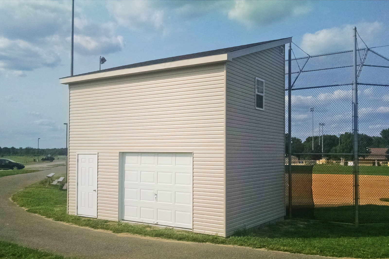 buy announcers booth with storage