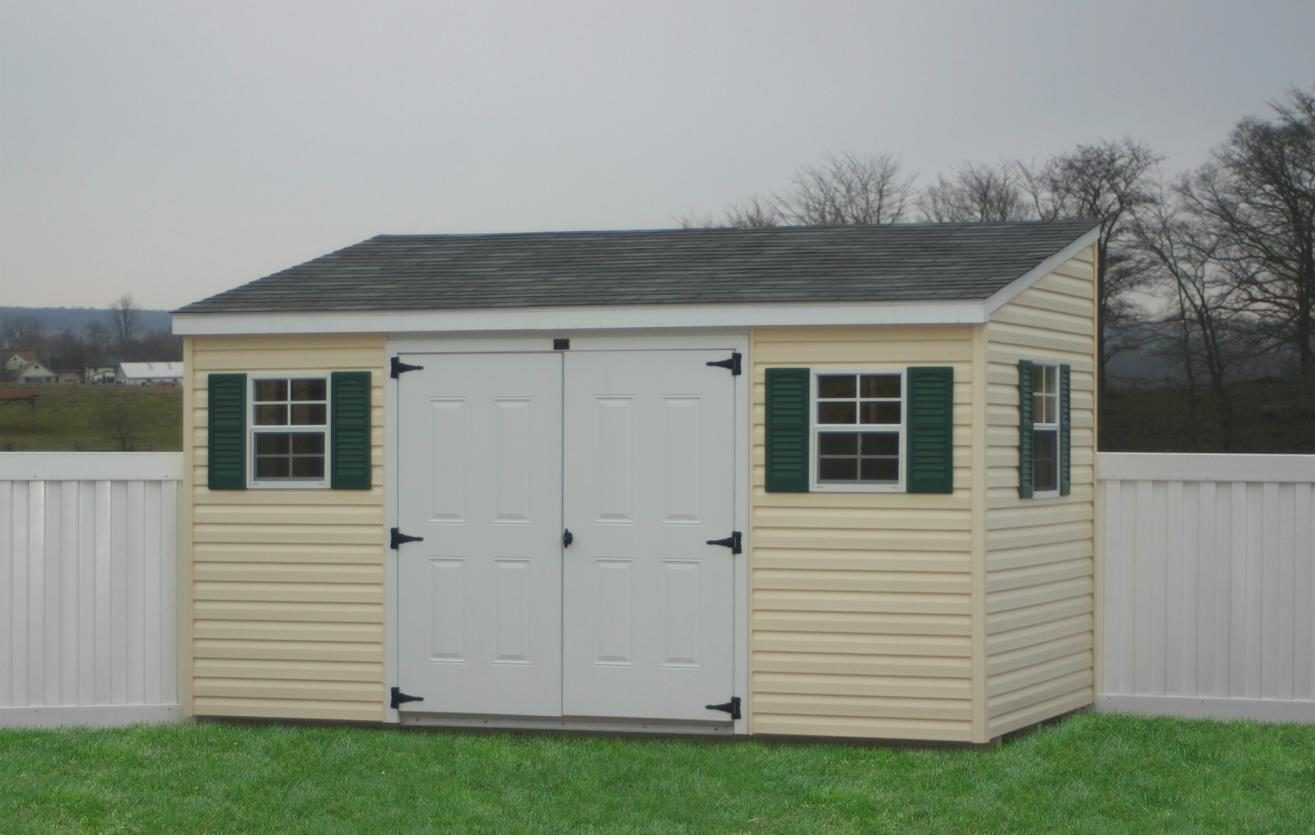 cheap lean to sheds