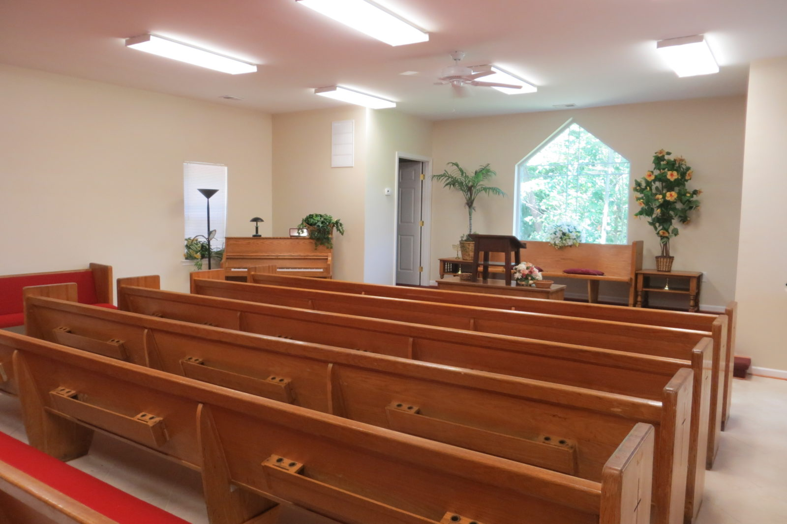 small church building