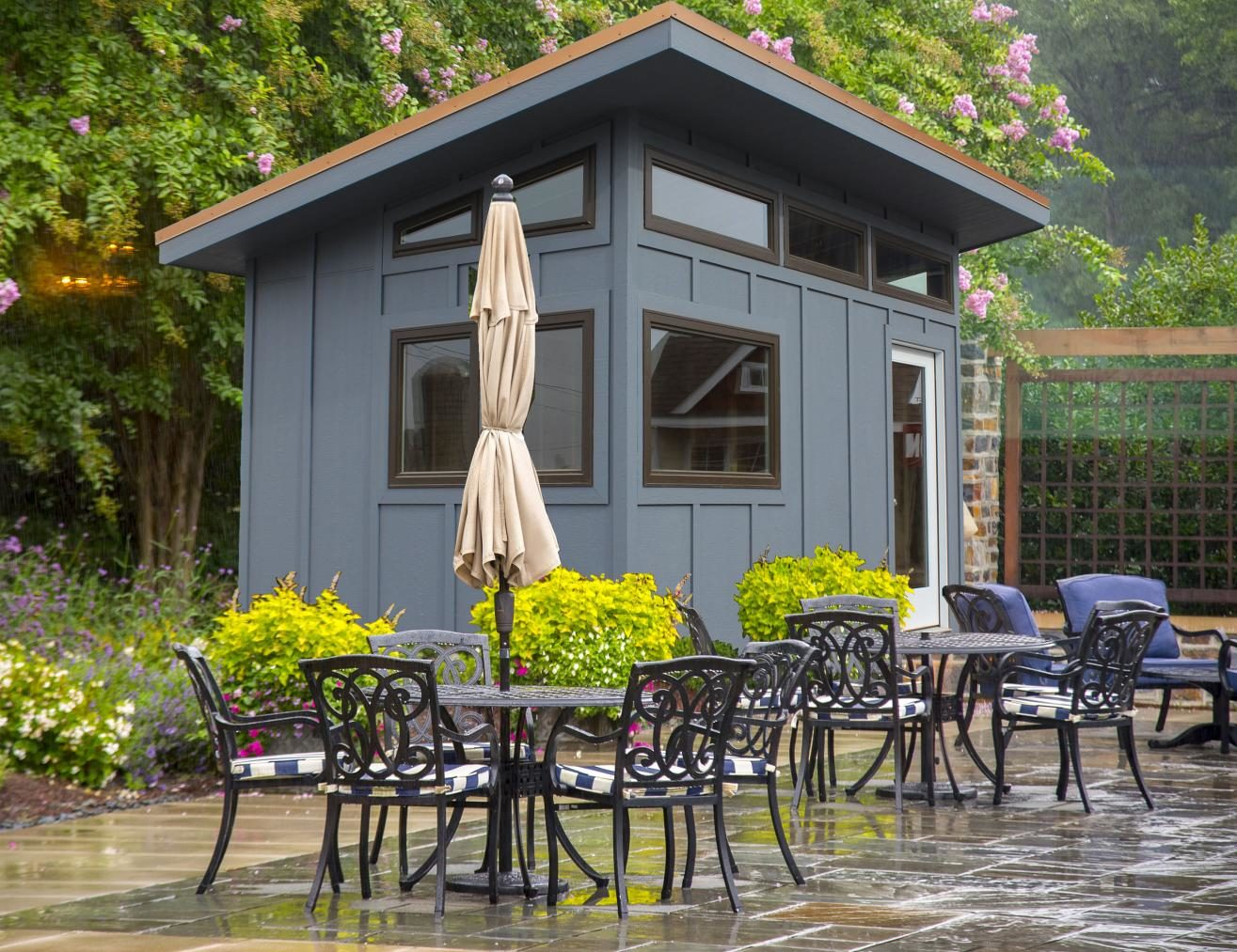 modern home office shed pa