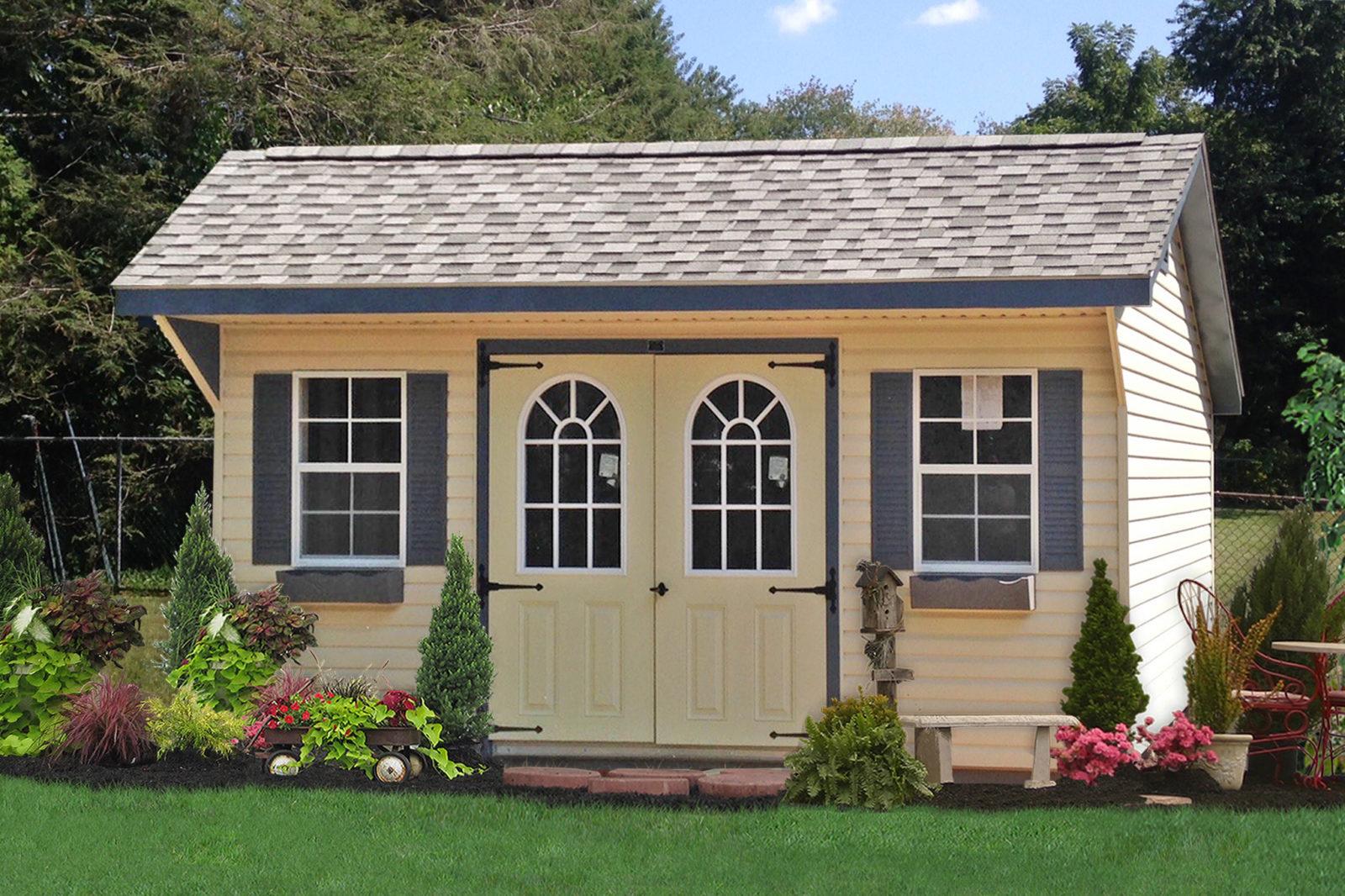 vinyl lancaster amish sheds