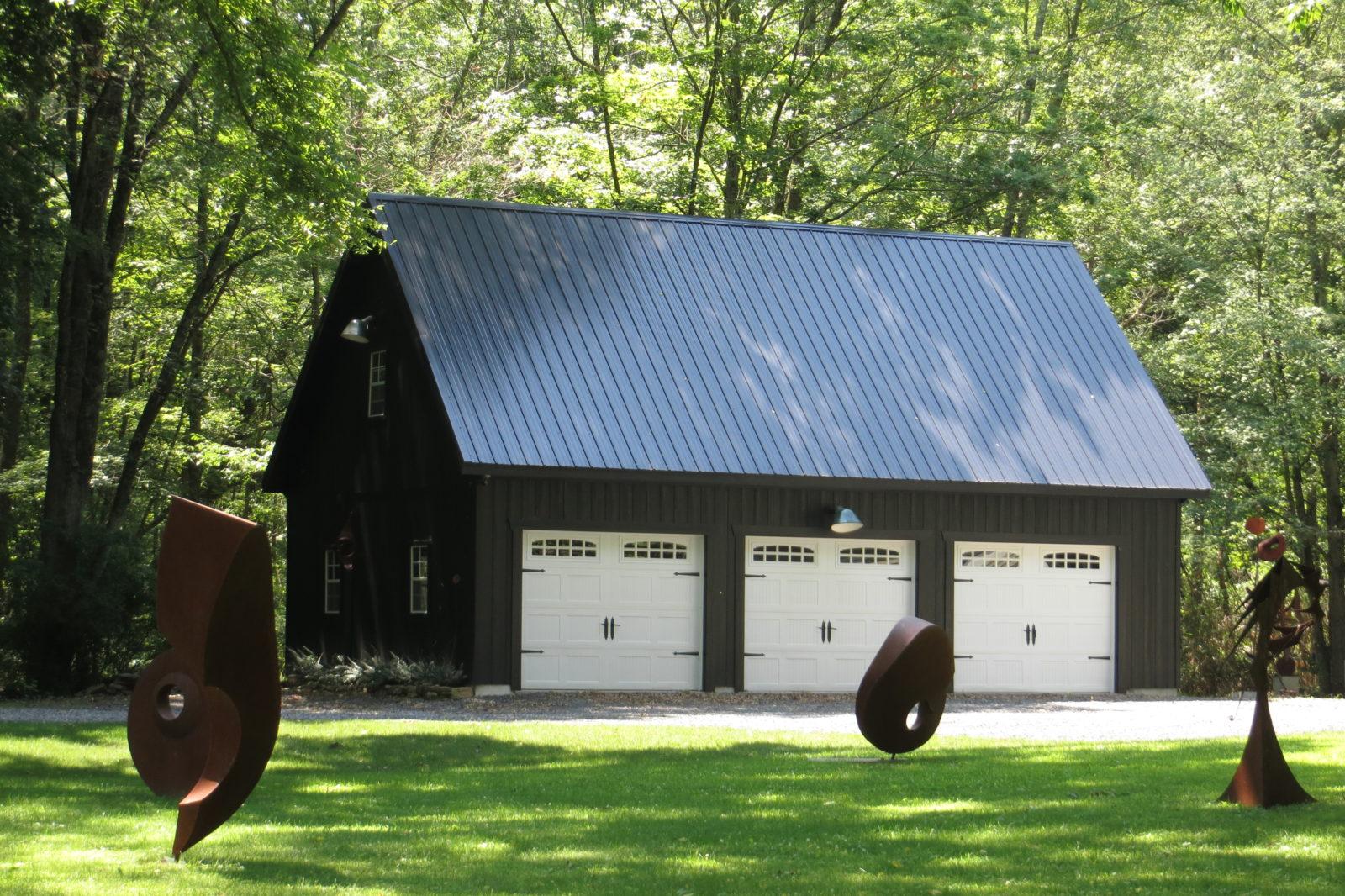 three car garage for sale