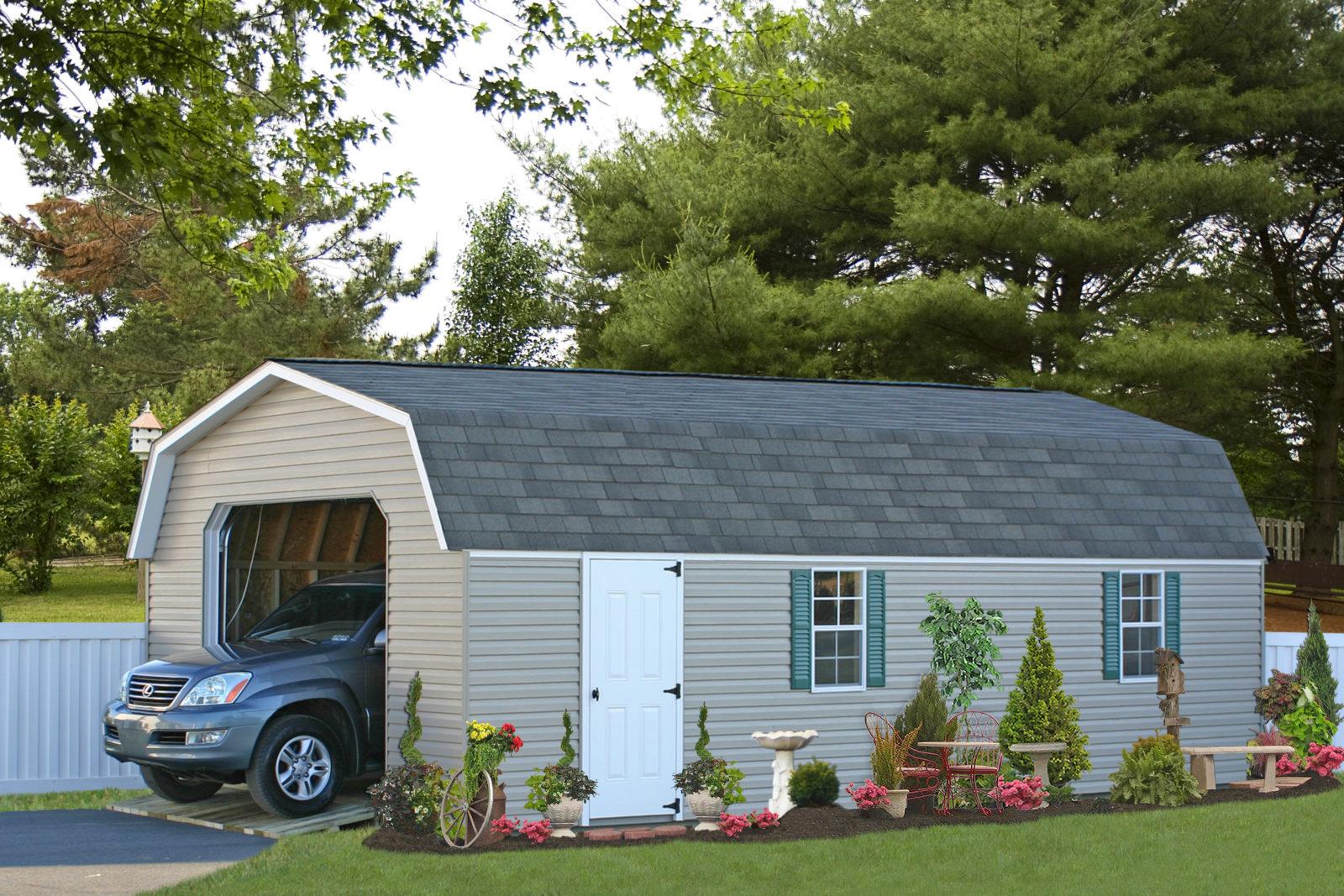 single car garages with loft pa nj ny