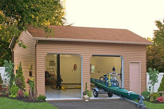 two car lift garage