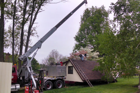 buy a two story shed in nj