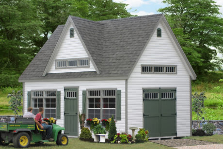 two story sheds pa
