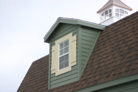 dormer on a two story shed in pa