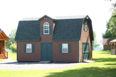 two story barns sheds
