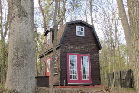 two story studio shed in nj
