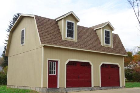 2 story barn garage