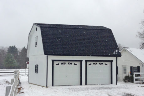 two story barn garage de md