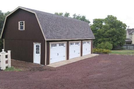 three car garage prices