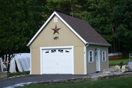 prefab two story garage