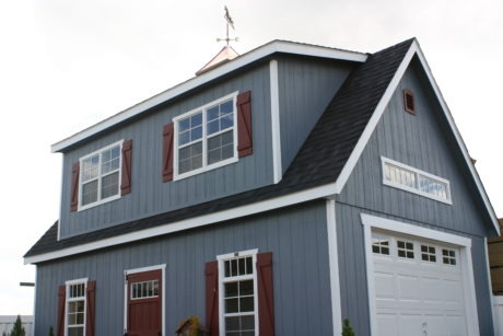 two story car garage for sale in de