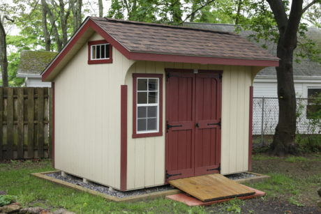 8x10 saltbox shed