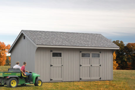 saltbox storage sheds