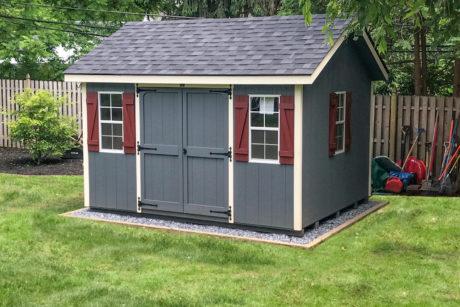 10x12 classic workshop shed