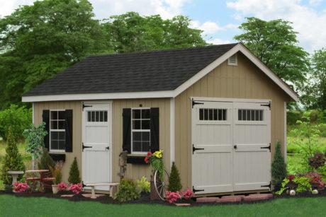 10x16 wooden storage sheds pa