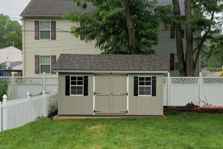 10x16 workshop classic shed with smart panel t111 siding